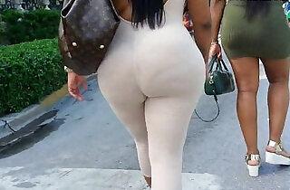 See through leggings visible thong booty.  xxx porn