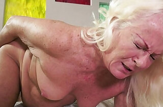 Hot granny and her much younger girlfriend.  xxx porn