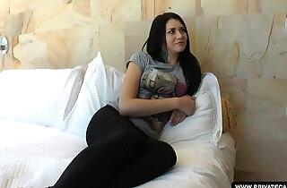 Teen Erika Bellucci has a hardcore anal casting....  xxx porn