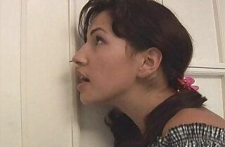 Busty mom gives teen a sex lesson.  xxx porn