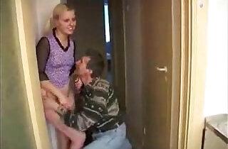 Son, mother, dad, daughter.  xxx porn