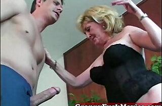 Granny whore loves them young.  xxx porn