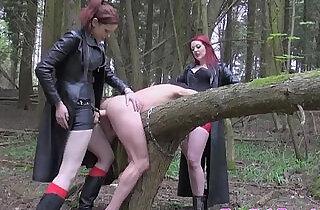 Rough british dominas punishing subject.  xxx porn
