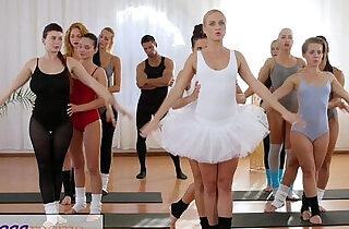 Fitness Rooms Petite ballet teachers secret threesome.  petite  ,  sex teacher  ,  tits   xxx porn