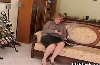 Fat And Horny Granny Wanting A Dick.  xxx porn