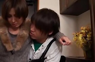 Hot Asian Japanese Mom fucks Young Son.  so young  ,  young-old   xxx porn