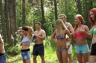 College orgyteens anal outdoor cumfest party.  xxx porn