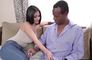 Busty latina beauty gives head n rides her old black teacher.  hitchhiking  ,  latino  ,  ride  ,  sex teacher   xxx porn