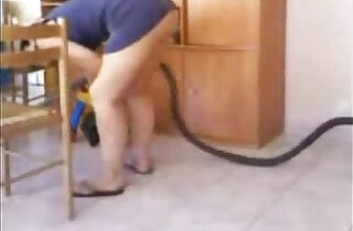 Spying my mom cleaning house.  xxx porn