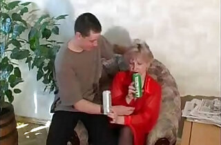 La Beer With Mom.  xxx porn