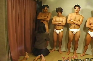 Bukkake Highschool Lesson Japanese blowjob.  xxx porn