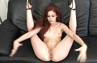 Cute Ruby Flame Receives Huge Creampie.  xxx porn