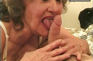 Granny anal threesome.  xxx porn
