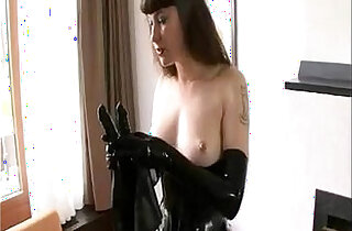BDSM Latex Solo.  xxx porn