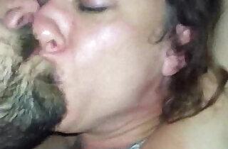Brunette MILF POV deepthroat.  xxx porn