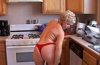 Very sexy grandma has a soaking wet pussy.  xxx porn