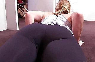 Denise Yoga Pants.  xxx porn