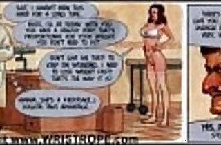 Huge Breast Big Cock Sex Comic.  xxx porn