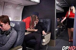 August Ames in flight fuck.  xxx porn