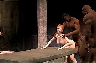 3D Animated Cuckold interracial FUCKING.  xxx porn