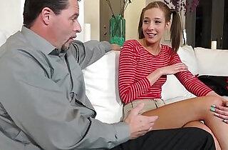 Step Dad got Molly Manson rides his cock on top.  xxx porn