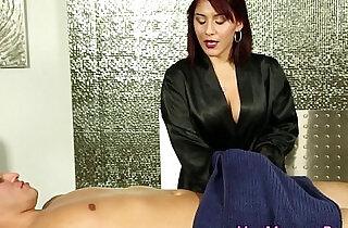 Jizzy mouth masseuse suck.  xxx porn