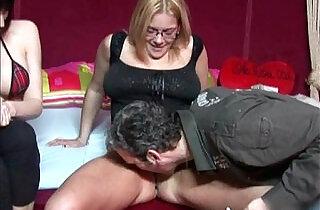 Dutch Mom Teaches Daughter How To Fuck.  xxx porn