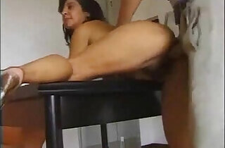 Italian hairy mature gets her pussy Filled.  xxx porn