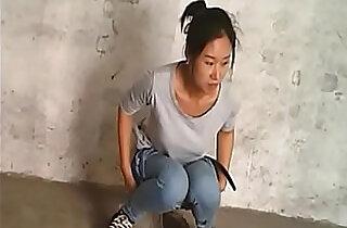 Spy Chinese Girl in Village Toilet.  xxx porn