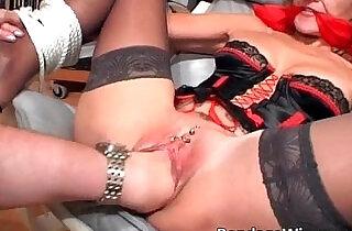 Tied up slut gets badly drilled in her.  xxx porn
