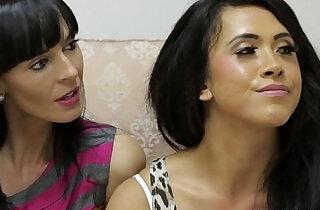 Rough Holly Kiss in humiliation treatment.  xxx porn