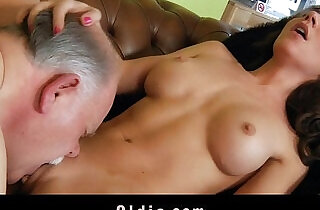 Old butler serve sex to his spoiled lady boss.  xxx porn