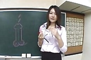 Subtitled Japanese Akira Watase classroom blowjob lecture.  emo punk  ,  fetishes  ,  in college  ,  japaneses  ,  leggy   xxx porn
