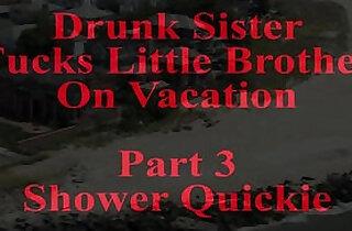Drunk Sister Fucks Little Brother.  xxx porn