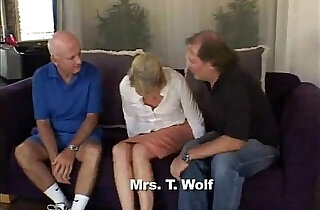 Blonde Swinger Slut Mrs. Wolf Abused.  swinger sex   xxx porn