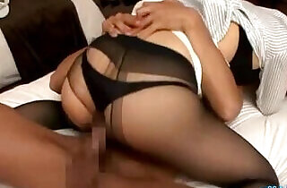 Hot Secretary Fucked and Creampie On The Bed In The Hotel.  xxx porn