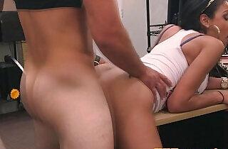 Pierced latina facialized for cash.  xxx porn