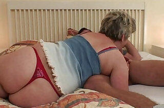 seduction: Horny granny seduces him but wife finds out!