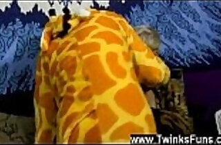 Amazing gay scene We join the duo dressed up in their finest Giraffe.  emo punk  ,  kisses  ,  masturbating   xxx porn