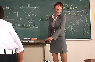 Teacher taking extra interest in couple of her students.  xxx porn