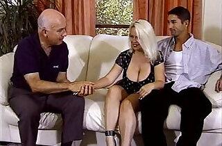 BBW Blonde Housewife Perfect Sex.  xxx porn