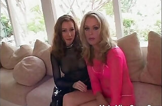 Two Hot Babes Shared In One Big Cock.  xxx porn