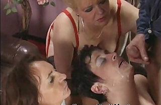 Real nasty granny orgy scene.  xxx porn