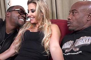 Alana Luv Get A Double Dose Of Black Cock.  xxx porn