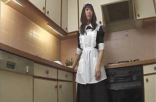 Horny Aiuchi Shiori wildest food insertion action.  xxx porn