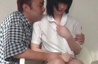 Japanese girl turned into sex doll gets her hot tits sucked.  tits   xxx porn