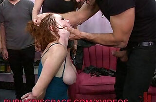 Red Head and Fucked Like a Rag Doll.  xxx porn