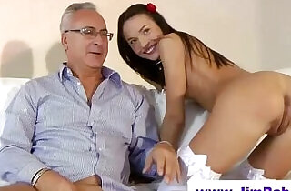 Old vs young hot stocking fucking.  xxx porn
