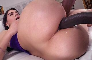 Monster black Dick in Her Italian Ass.  xxx porn