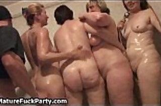 Lucky young guy shooting cum over.  xxx porn